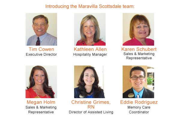 Introducing the Maravilla Scottsdale team: