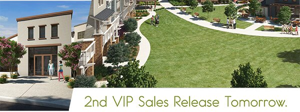 2nd VIP Sales Release the Saturday.