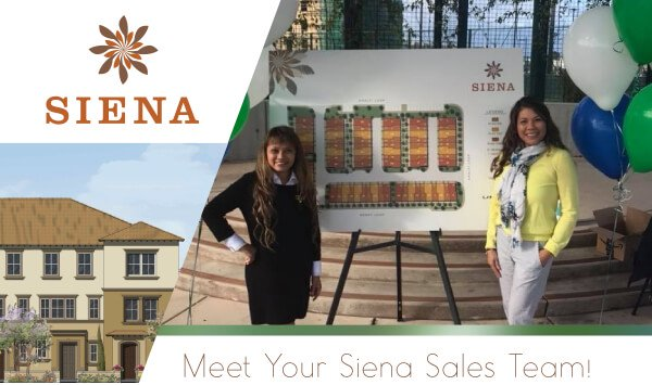 SIENA - Meet Your Siena Sales Team!