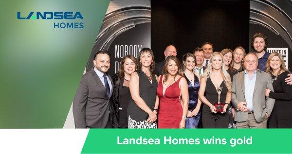 Landsea Homes wins gold