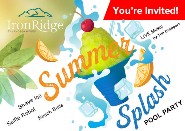 You're Invited - Summer Splash Pool Party