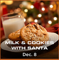 Milk and Cookies with Santa – Dec. 8th
