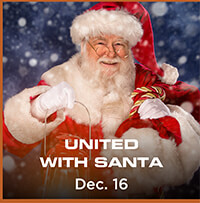 United with Santa – Dec. 16th