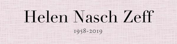 Helen Nasch Zeff