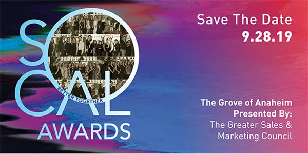 SOCAL AWARDS - Save The Date 9.28.19